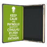 Keep Calm and Fhtagn Cover For iPad Air