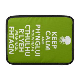 Keep Calm and Fhtagn MacBook Sleeve