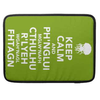 Keep Calm and Fhtagn Sleeves For MacBooks