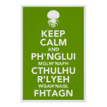 Keep Calm and Fhtagn Posters