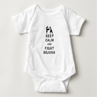 Keep Calm and Fight Bojuka Baby Bodysuit