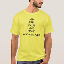 Keep Calm and Fight Endometriosis T-Shirt