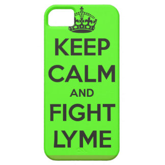 Keep calm and fight Lyme iPhone case iPhone 5 Cases