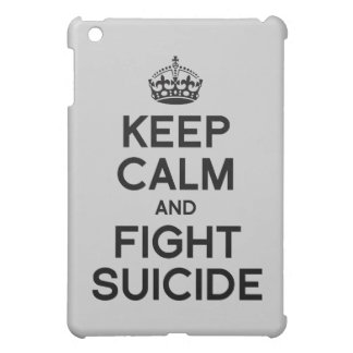 KEEP CALM AND FIGHT SUICIDE iPad MINI COVER