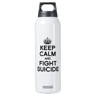KEEP CALM AND FIGHT SUICIDE SIGG THERMO 0.5L INSULATED BOTTLE