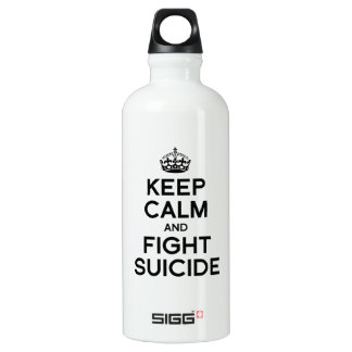 KEEP CALM AND FIGHT SUICIDE SIGG TRAVELER 0.6L WATER BOTTLE