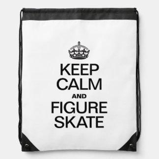 KEEP CALM AND FIGURE SKATE.ai Backpack