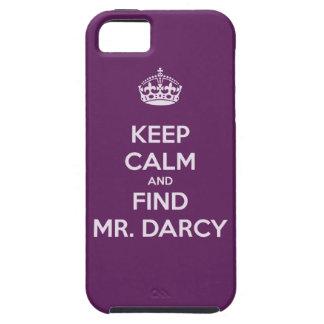 Keep Calm and Find Mr. Darcy Jane Austen iPhone SE/5/5s Case