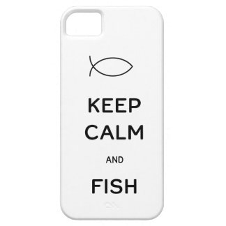 Keep Calm and Fish iPhone SE/5/5s Case