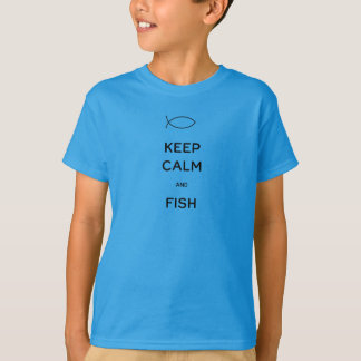 Keep Calm and Fish T-Shirt