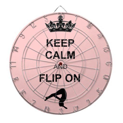 Keep Calm and Flip Dart Boards