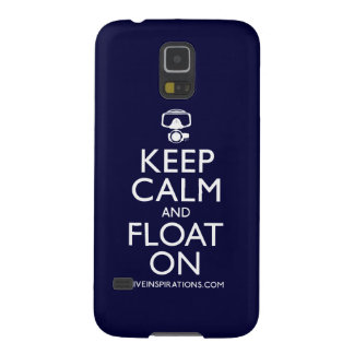 Keep Calm and Float On Galaxy S5 Case