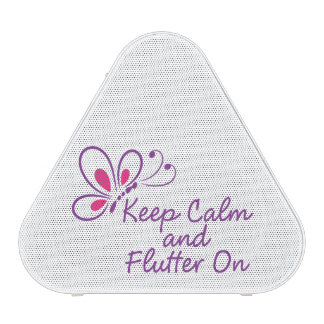 Keep Calm and Flutter On Speakers