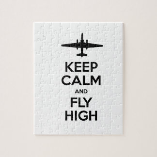 Keep Calm and Fly High U-2 Puzzle