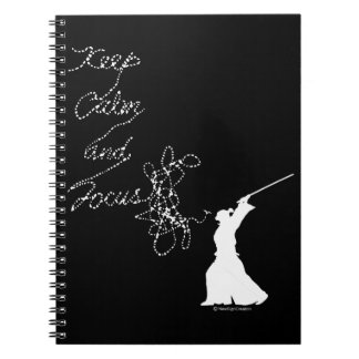 Keep calm and focus notebooks