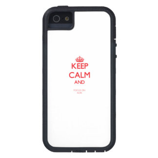 Keep calm and focus on ACES iPhone 5 Cover