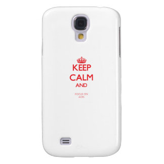 Keep calm and focus on ACES Samsung Galaxy S4 Cases