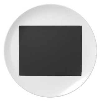 Keep calm and focus on ALARMISTS Dinner Plates