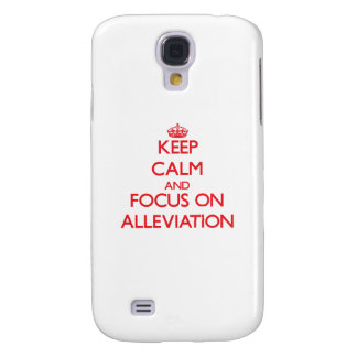 Keep calm and focus on ALLEVIATION HTC Vivid Cases
