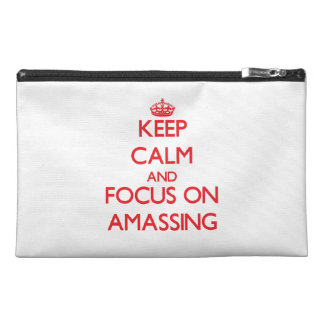 Keep calm and focus on AMASSING Travel Accessories Bag