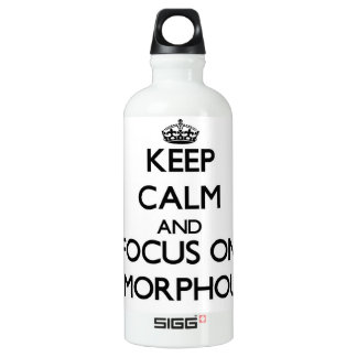 Keep Calm And Focus On Amorphous SIGG Traveler 0.6L Water Bottle