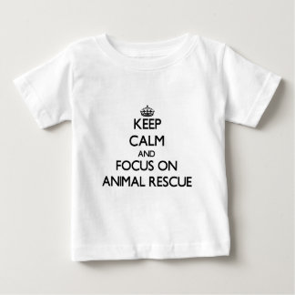Keep calm and focus on Animal Rescue Shirt