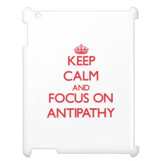 Keep calm and focus on ANTIPATHY iPad Covers