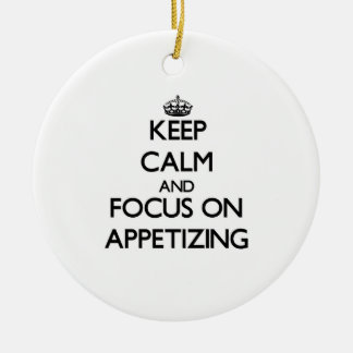Keep Calm And Focus On Appetizing Christmas Ornaments
