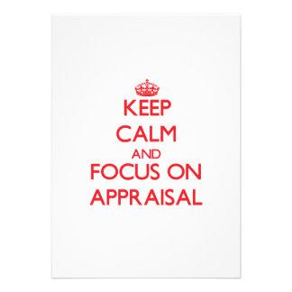 Keep calm and focus on APPRAISAL Custom Invites