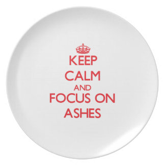 Keep calm and focus on ASHES Plates