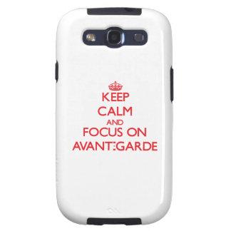 Keep calm and focus on AVANT-GARDE Samsung Galaxy S3 Cases