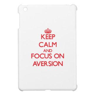 Keep calm and focus on AVERSION iPad Mini Cases