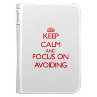 Keep calm and focus on AVOIDING Kindle Folio Case
