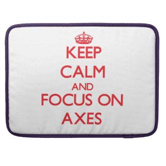 Keep calm and focus on AXES MacBook Pro Sleeve