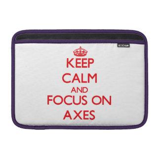 Keep calm and focus on AXES Sleeve For MacBook Air