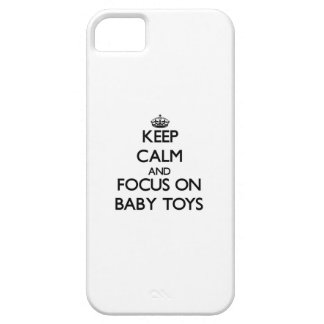 Keep Calm and focus on Baby Toys iPhone 5 Cover