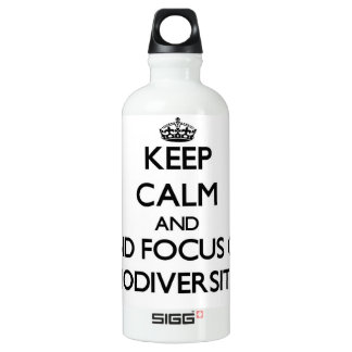 Keep calm and focus on Biodiversity SIGG Traveler 0.6L Water Bottle