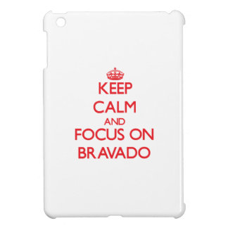 Keep Calm and focus on Bravado iPad Mini Cases