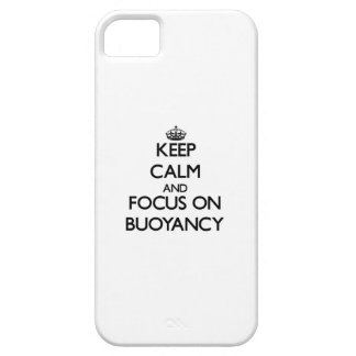 Keep Calm and focus on Buoyancy iPhone 5 Cases
