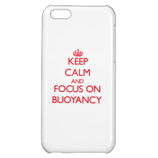Keep Calm and focus on Buoyancy iPhone 5C Covers