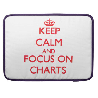 Keep Calm and focus on Charts Sleeve For MacBooks
