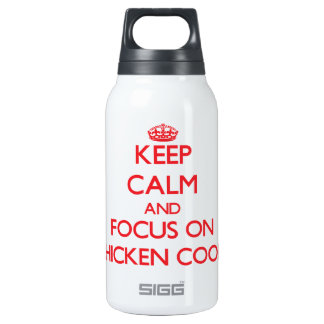 Keep Calm and focus on Chicken Coops SIGG Thermo 0.3L Insulated Bottle