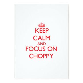Keep Calm and focus on Choppy Announcement