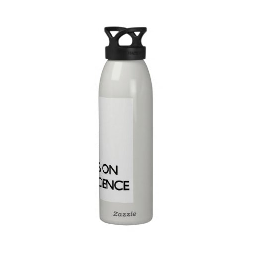 Keep calm and focus on Cognitive Science Water Bottle