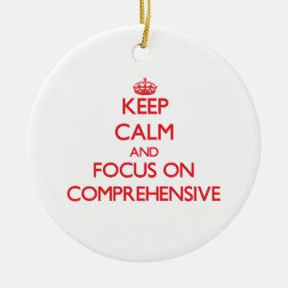 Keep Calm and focus on Comprehensive Christmas Ornaments
