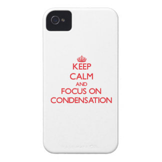 Keep Calm and focus on Condensation iPhone 4 Cover