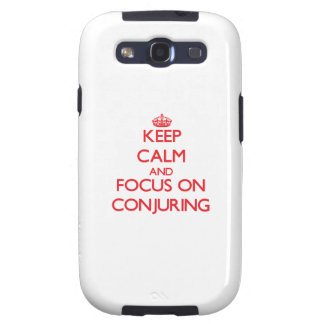 Keep Calm and focus on Conjuring Galaxy S3 Cases