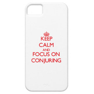 Keep Calm and focus on Conjuring Cover For iPhone 5/5S