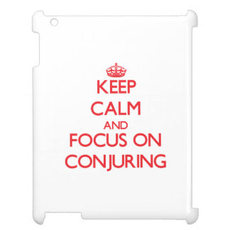 Keep Calm and focus on Conjuring iPad Cover