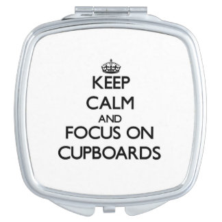 Keep Calm and focus on Cupboards Makeup Mirrors